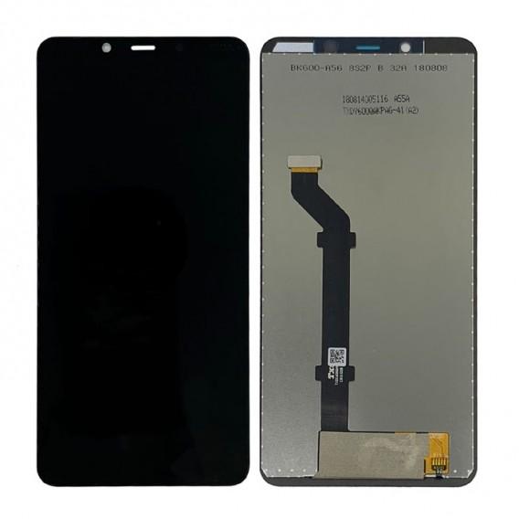 Nokia 3.1 Plus Ersatzdisplay LCD + Digitizer Front (OEM) - Schwarz
