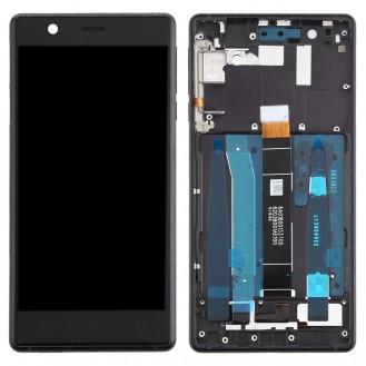 Nokia 3 Ersatzdisplay LCD + Digitizer Front (OEM) - Schwarz