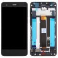 Nokia 2 Ersatzdisplay LCD + Digitizer Front (OEM) - Schwarz