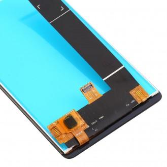 Nokia 1 Plus Ersatzdisplay LCD + Digitizer Front (OEM) - Schwarz