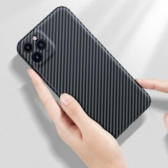 Echt Carbon Faser Volle Schutz Hülle Slim Case Für iPhone 11 Pro