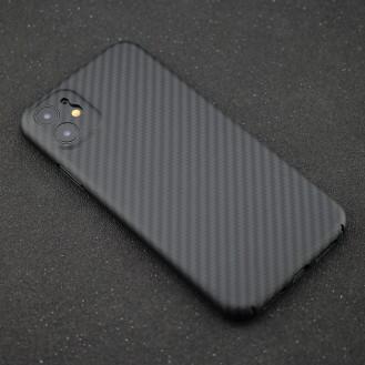 Echt Carbon Faser Volle Schutz Hülle Slim Case Für iPhone 11