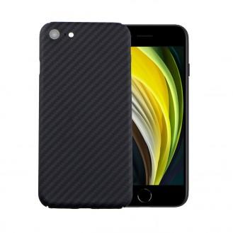 Echt Carbon Faser Volle Schutz Hülle Slim Case Für iPhone SE 2020 / 7 / 8
