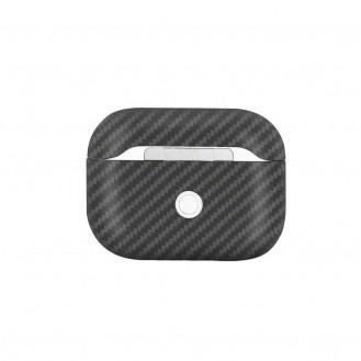 Echt Carbon Faser Volle Schutz Hülle Slim Case Für Airpods Pro Schwarz