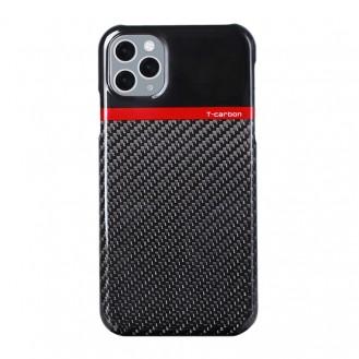Echt Carbon Faser Volle Schutz Hülle Slim Case Für iPhone 11 Pro T-Carbon