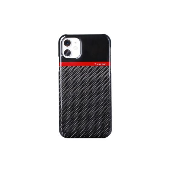 Echt Carbon Faser Volle Schutz Hülle Slim Case Für iPhone 11 T-Carbon