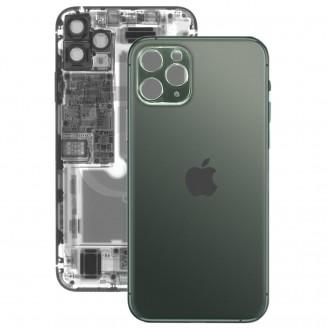 iPhone 11 Pro Max Rückseite Backglas Akkudeckel Grün mit grosses Loch