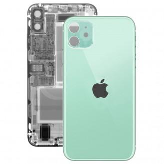 iPhone 11 Rückseite Backglas Akkudeckel Grün mit grosses Loch A2221, A2223, A2111