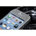 iPhone 5 5S SE Silber Bling Aufkleber Folie Sticker Skin
