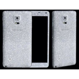 Galaxy Note 4 Silber Bling Aufkleber Folie Sticker Skin