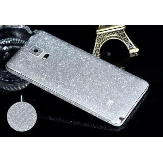 Galaxy Note 4 Silber Bling Aufkleber Folie Sticker Skin