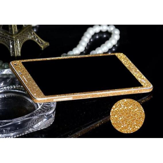 Galaxy Note 4 Gold Bling Aufkleber Folie Sticker Skin