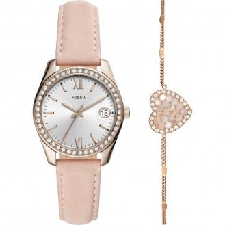Set Armband und Damenuhr Scarlette ES4607SET