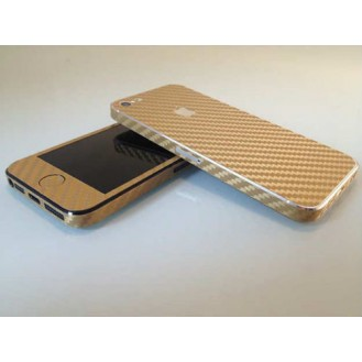 More about Gold Carbonfolie Sticker Skin für iPhone 5 5S SE