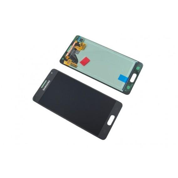 Original Samsung Galaxy Alpha G850F Display schwarz