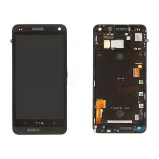 Original HTC One M7 LCD Display schwarz