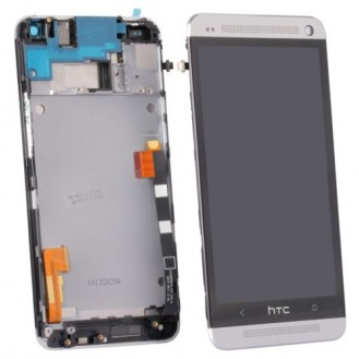 More about Original HTC One M7 LCD Display grau