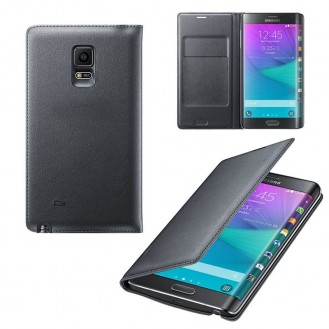 Leder Samsung Galaxy Note Edge Schwarz