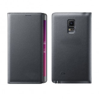 Leder Samsung Galaxy Note Edge Schwarz