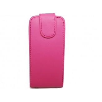 Pink Flip Leder Etui iPod Touch 5