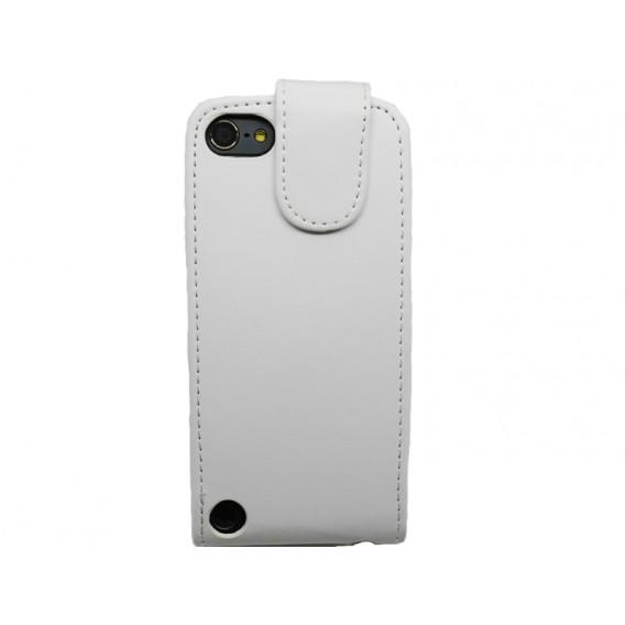 Weiss Flip Leder Etui iPod Touch 5