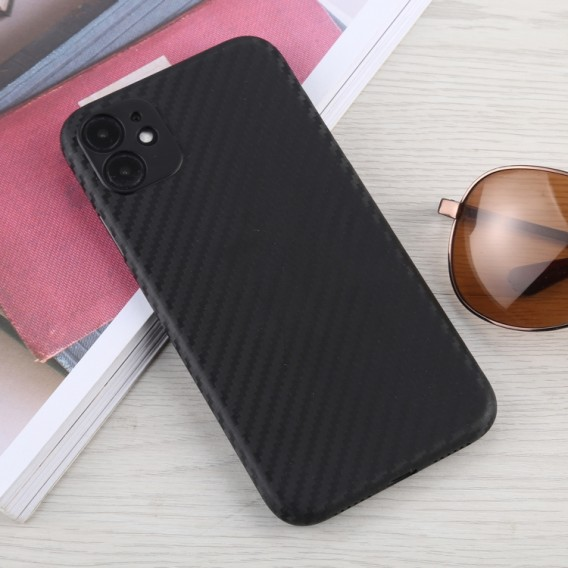 Carbon Look Cover iPhone 11