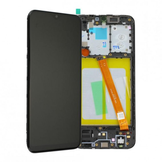 Samsung Galaxy A20e A202 LCD Display, Schwarz