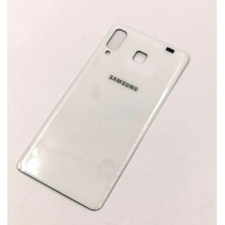 Samsung Galaxy A9 2018 OEM Backglass Akku Deckel Weiss