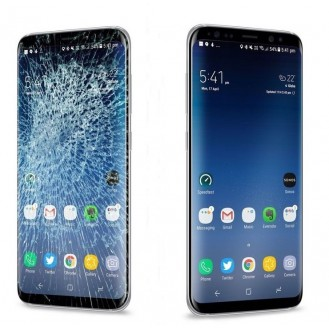 Samsung Galaxy A40 Display Reparatur Glas Austausch Ohne Datenverlust