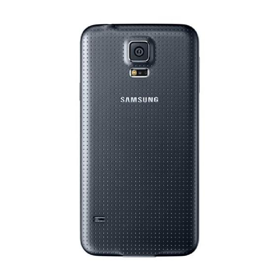 Akkudeckel Samsung Galaxy S5 Schwarz