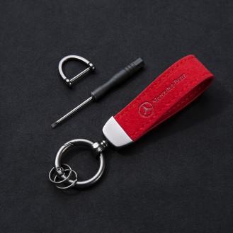 AMG Rot Schlüsselanhänger (Auf Wunsch mit Gravur)