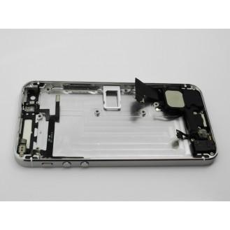 iPhone 5 Alu Backcover Rückseite Weiss
