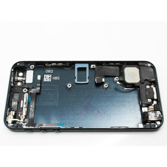 iPhone 5 Alu Backcover Rückseite Schwarz