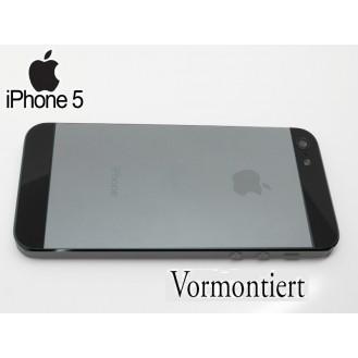 More about iPhone 5 Alu Backcover Rückseite Grau