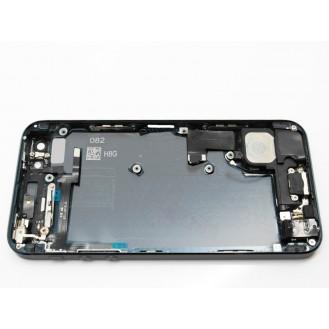 iPhone 5 Alu Backcover Rückseite Grau