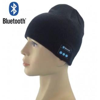 Bluetooth Musik Mütze Schwarz