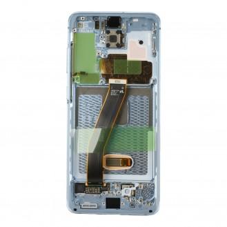 Samsung Galaxy S20 G980F/S20 5G G981B LCD Display, Cloud Blue Serviceware