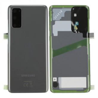 Samsung Galaxy S20 G980F / S20 5G G981B Akkudeckel, Cosmic Grey Serviceware