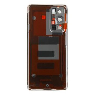 Huawei P40 (ANA-LNX9, ANA-LX4) Akkudeckel Eis Weiss