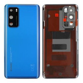 Huawei P40 (ANA-LNX9, ANA-LX4) Akkudeckel Eis Tiefseeblau