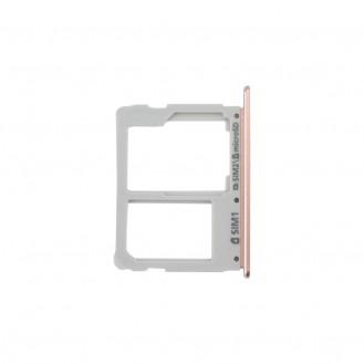 Sim+SD Tray Pink kompatibel mit Samsung Galaxy A3 2016 A310/ A5 2016 A510/ A7 2016 A710