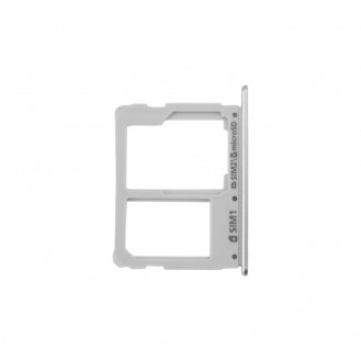 Sim+SD Tray Weiß kompatibel mit Samsung Galaxy A3 2016 A310/ A5 2016 A510/ A7 2016 A710