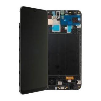 Samsung Galaxy A30 A305F LCD Display, Schwarz