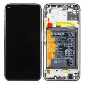 Huawei P40 lite (JNY-L21A) LCD Display Midnight Black