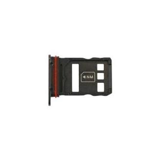Sim Tray kompatibel mit Huawei Mate 30 Pro, Schwarz