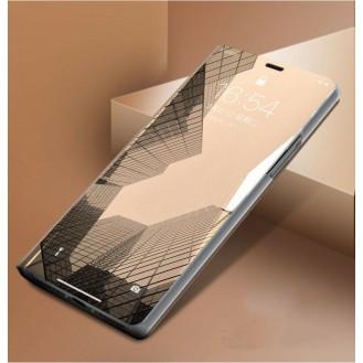 Samsung Galaxy  S20 Ultra Spiegel Flip Mirror Clear View Case Gold