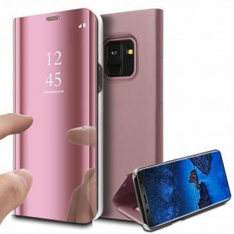 Samsung Galaxy S20 Plus Spiegel Flip Mirror Clear View Case Rosa Gold