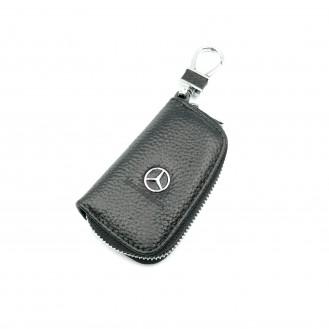 Auto Schlüssel Hülle Etui Echt Leder Tasche für BMW