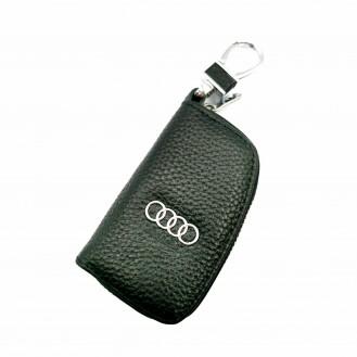 Auto Schlüssel Hülle Etui Echt Leder Tasche für BMW Audi