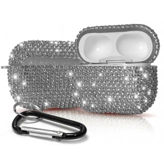 Kristall Diamant Strass Bling Hartschale Case für Apple Airpods pro (2019)